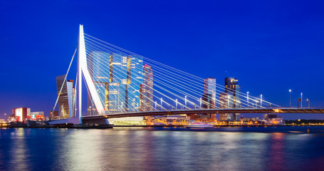 Fototapete - Rotterdam Skyline, The Netherlands