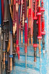 Shisha Pipes Hanging