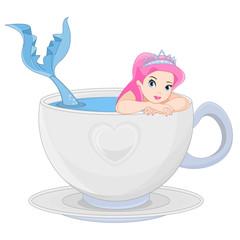 Mermaid in a Cup