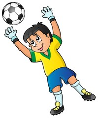 Soccer theme image 2