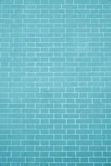 texture brick wall azure color