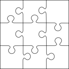 puzzle template 400 pieces vector 20x20 buy this stock vector and