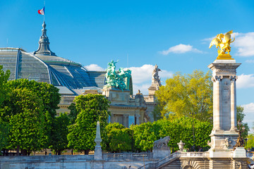 grand palais paris Fototapete