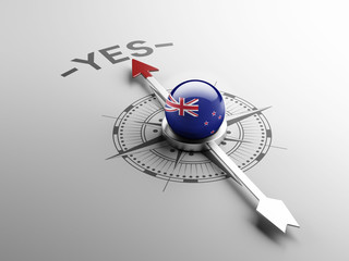 New Zealand Yes Concept