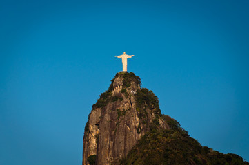 Christ the Redeemer Statue on the Corcovado Mountain