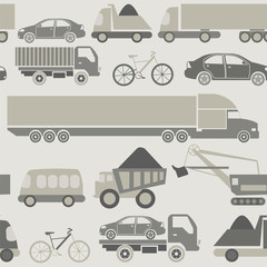 Car service and some types of transportation background