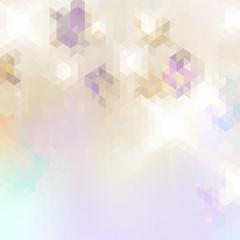 Geometric triangle mosaic background. + EPS10
