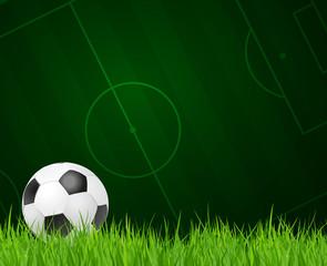 Fußball-Hintergrund - soccer background