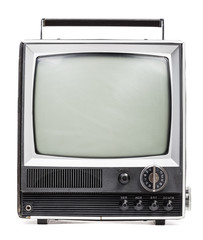 Old handheld television