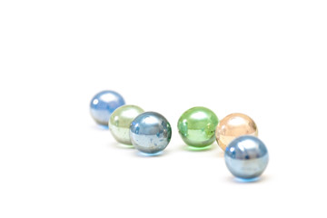 Shone glass balls