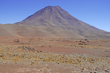 Volcano in the Atacama Desert, Chile