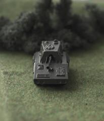 Toy tank destroyer
