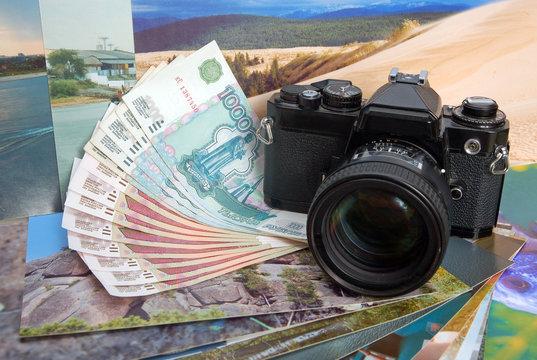 The camera and photos: earn money on photostocks
