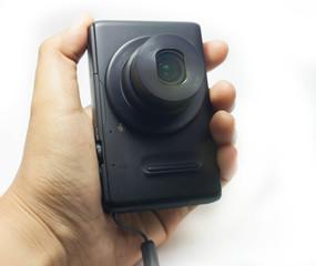 camera on hand