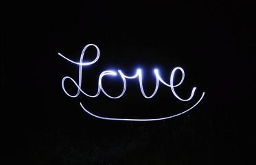 Langzeitbelichtung - Love