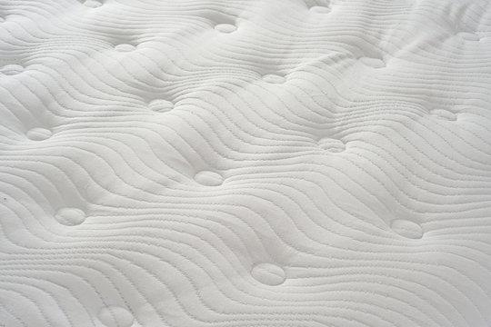 Bed Mattress close up