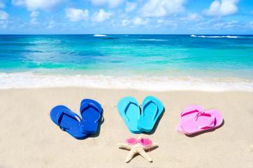 Flip flops and starfish