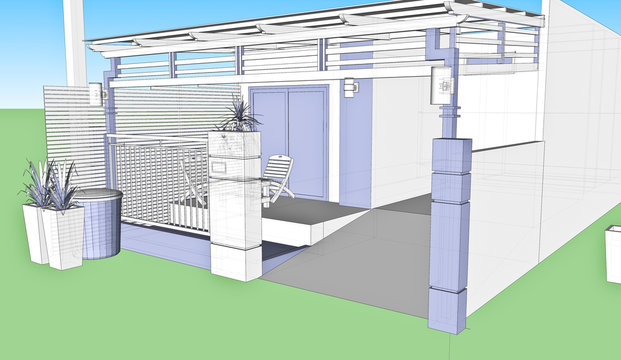 house for Sketchup
