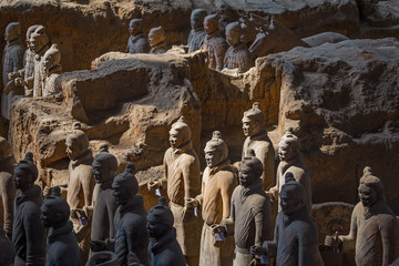 Tuinposter Xian The Terracotta Army or the