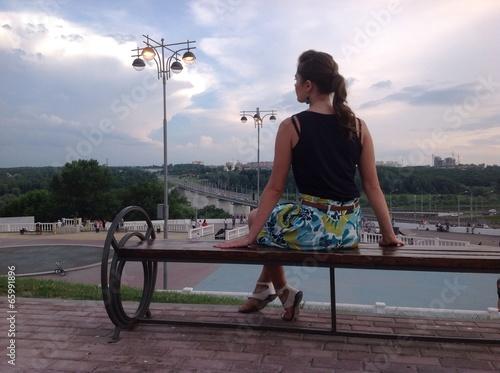 вид девушки со спины картинки