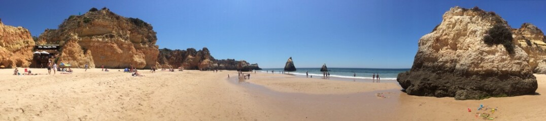 Panorama Algarve beach