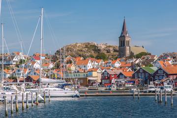 Fotomurales - Bohuslän, Fjällbacka, Hafen