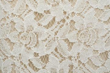 Flower lace pattern.