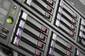 Status running of Storage Server