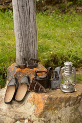 herramientas y utensilios antiguos, vintage