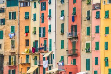 Fototapeta Finestre di Portovenere