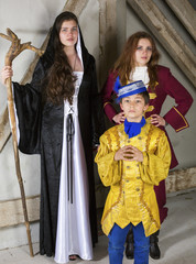 princess,prince and witch