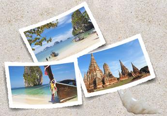 photos de Thaïlande sur le sable