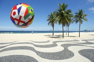 International Flag Football Copacbana Rio Brazil