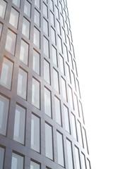 moderne Bürofassade in der Dortmunder Innenstadt
