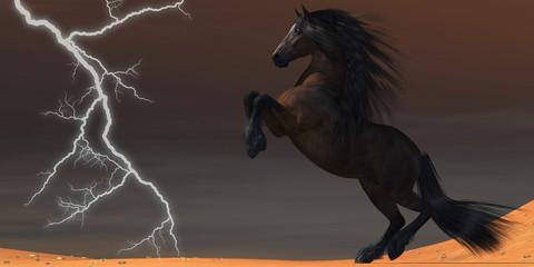 Desert Lightning Horse
