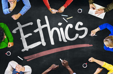 People Working and Ethics Concept