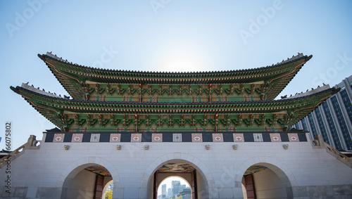 Emperor palace at Seoul  South Korea