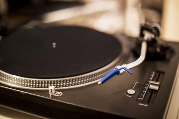DJ mixing equipment