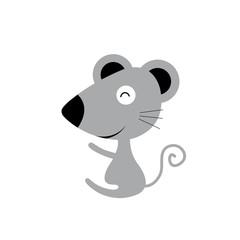 vector cartoon cute mouse