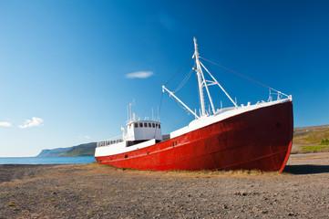 In de dag Schipbreuk Ship wreck