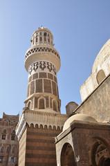 Талхан мечеть (Talhan mosque) в Сане, Йемен