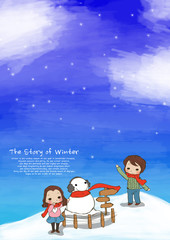 Illustration of winter