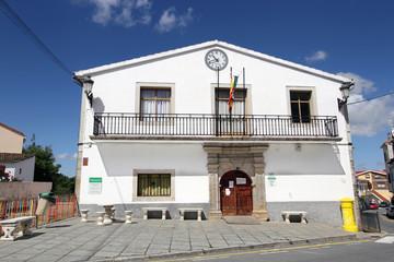 Wall Mural - Ayuntamiento de La Garganta de Baños, Valle del Ambrioz, España