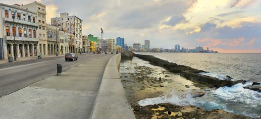 Havana waterfront panorama
