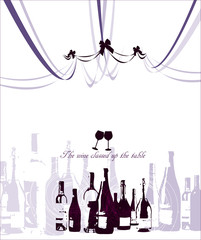 Illustration of wine Day