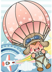 Illustration of pilot