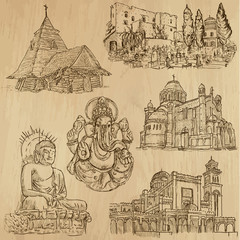 Religious no.8 - Vector pack, hand drawings