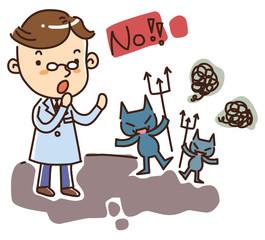 Illustration of Doctors and nurses