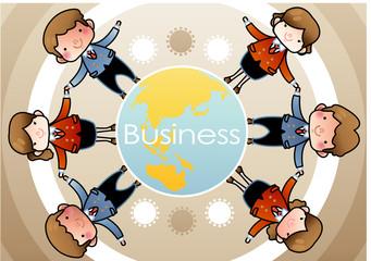 Illustration of business