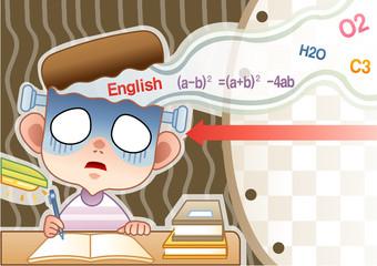 Illustration of stress